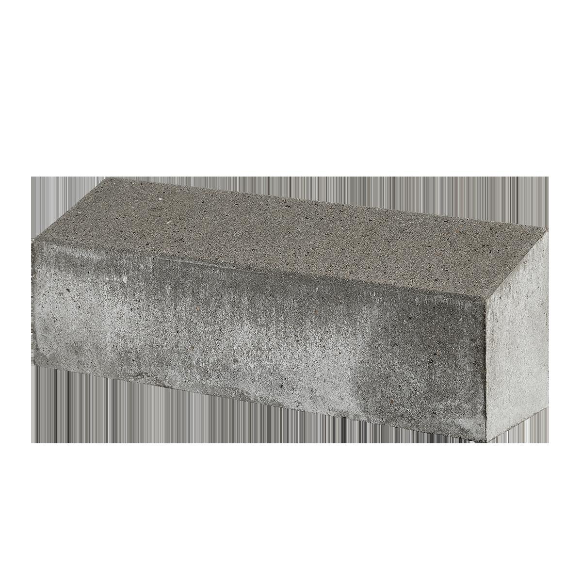 Albertslundkantsten 15x15/20x60 cm Grå skrå overside