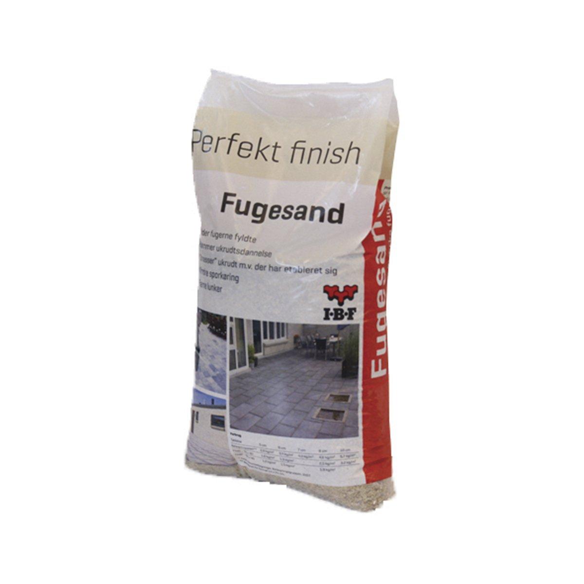 IBF Fugesand 0-4 mm (iht. DS/EN 1136) 20 kg Pose