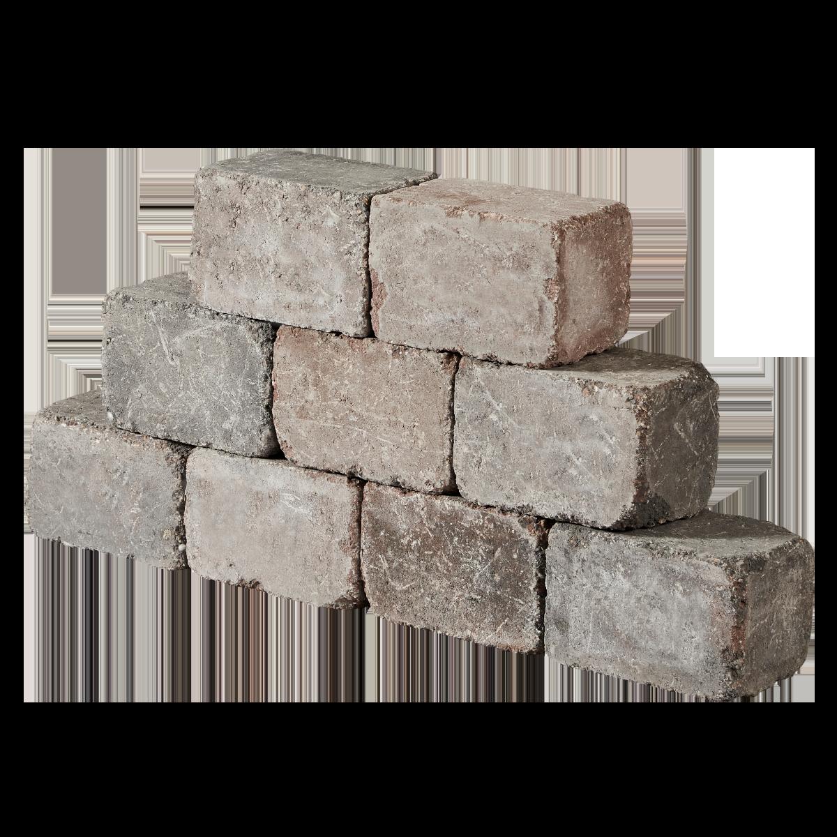 Holmegaardsten® 14x21x14 cm Rødmix Kantblokke