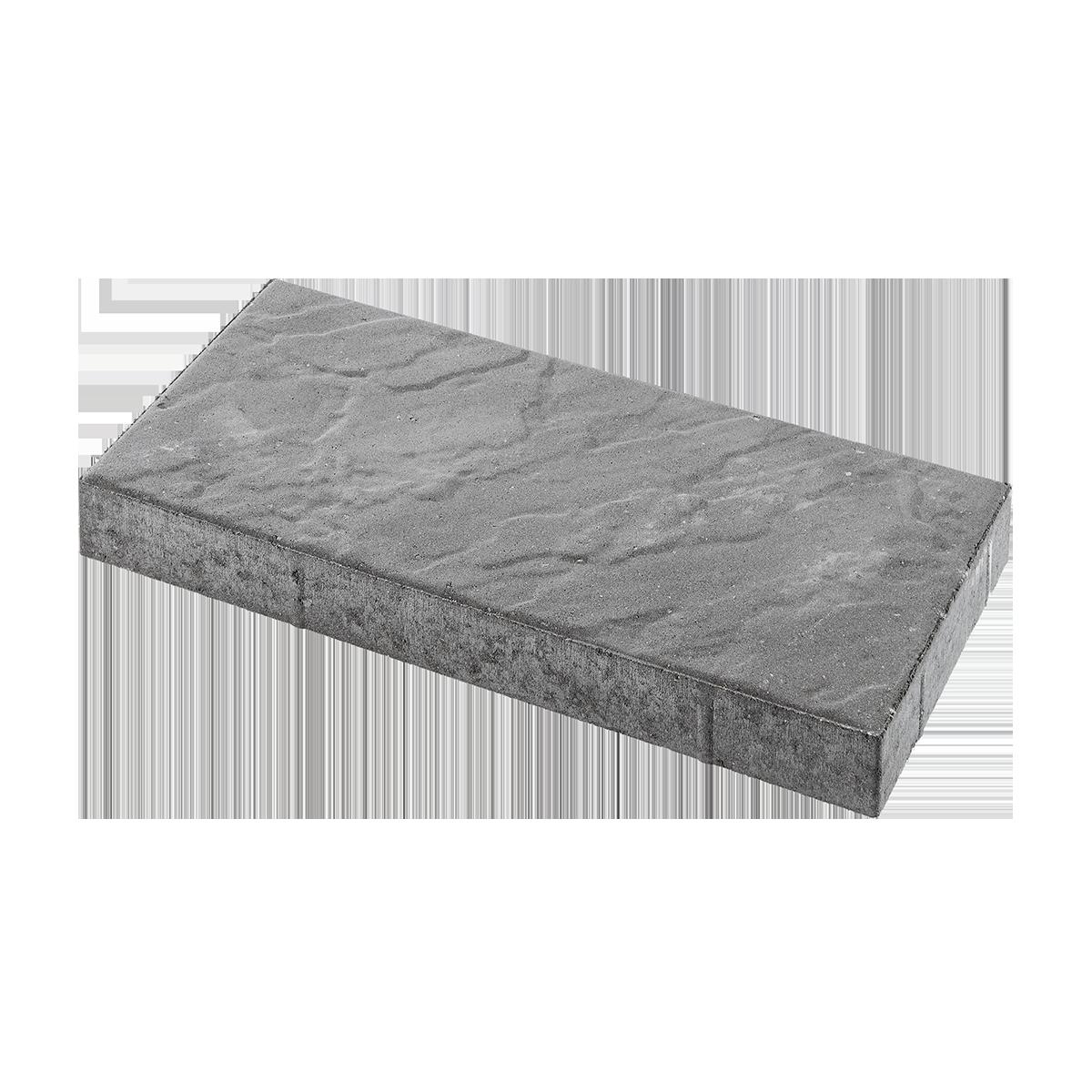 Skiferpræg 30x60x6 cm Grå