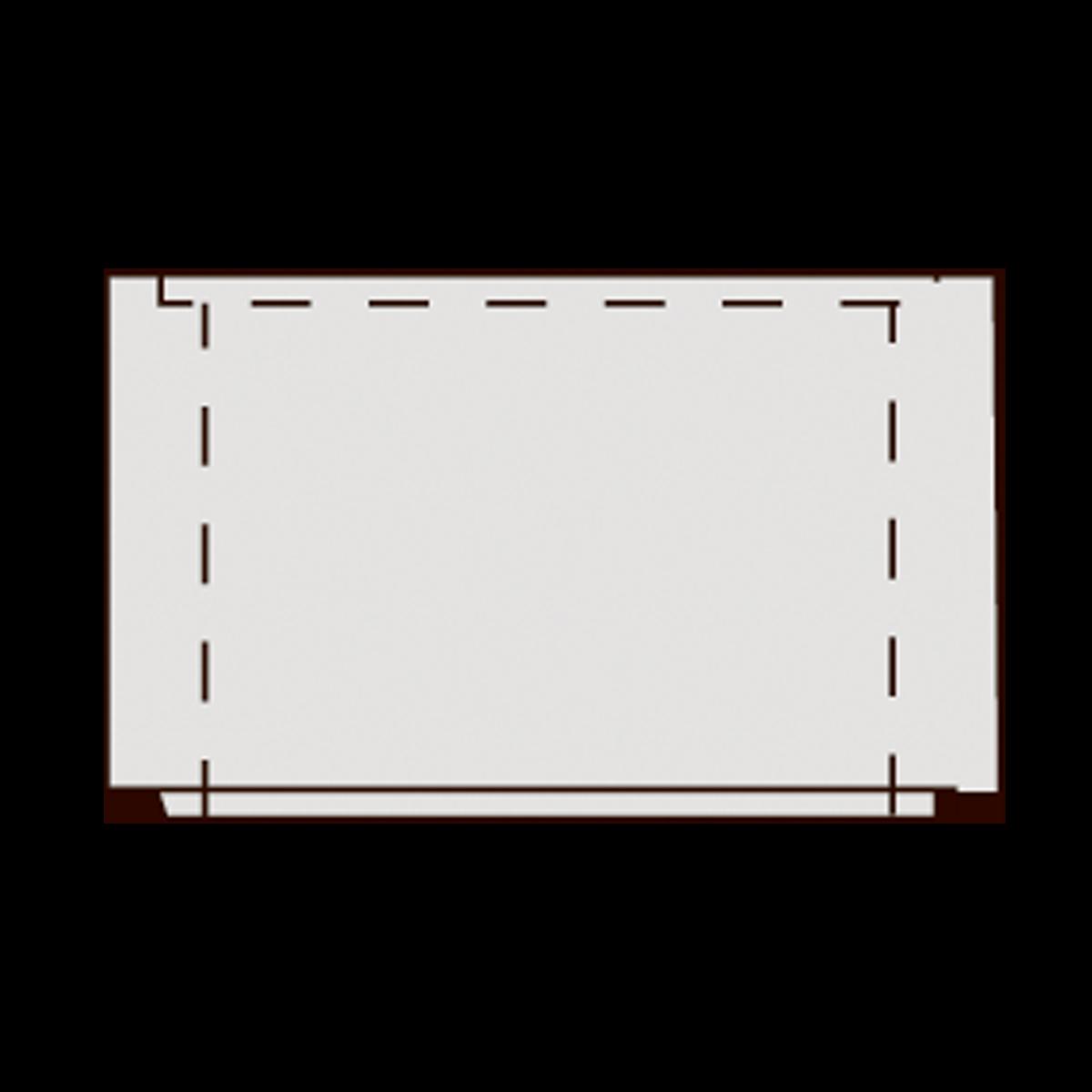 Mellemstykke til 40 cm vej- og tørbrønde, fals
