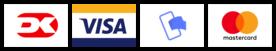 Betalingskort eller MobilePay