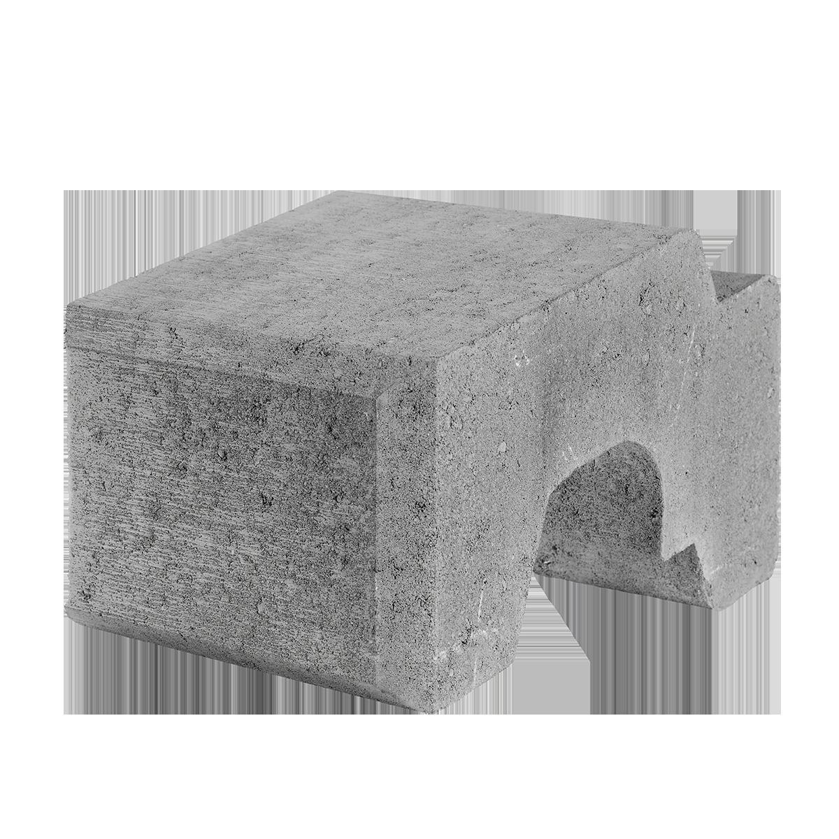 Danblokke 25x33x17 cm Grå Normal