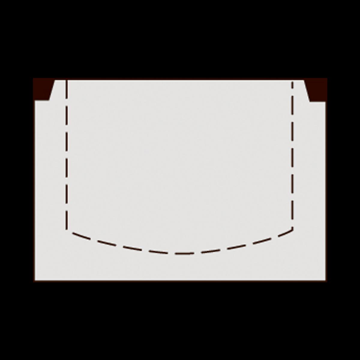60 cm brøndbunde uden tilslutninger, gls