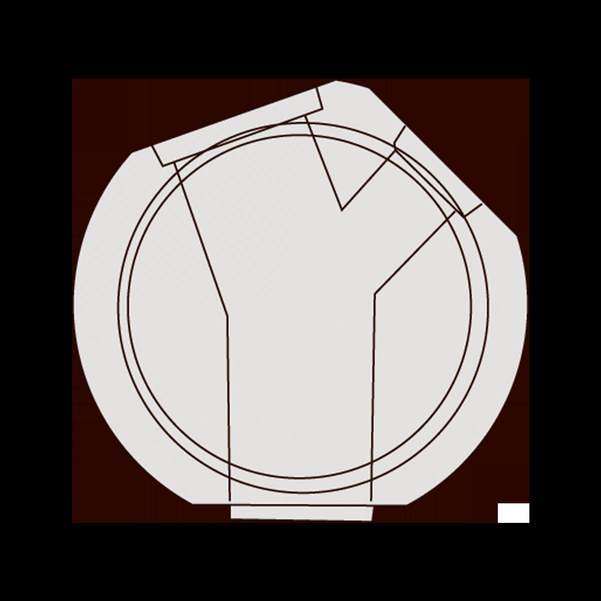 150 cm Drejebrønd, gls