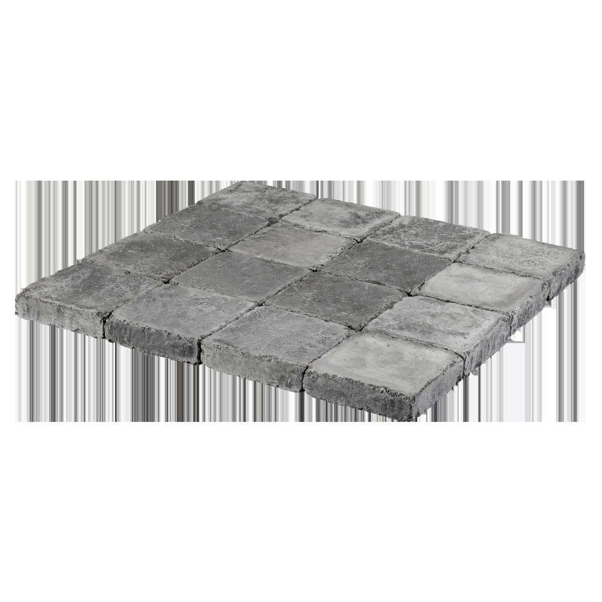 Holmegaardsten® 28x28x7 cm Sort/Antracit Kvadrat stor