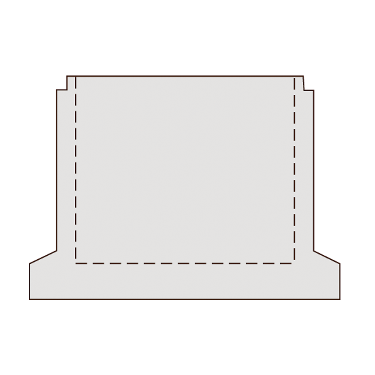 150 cm permeabel brøndring, gls