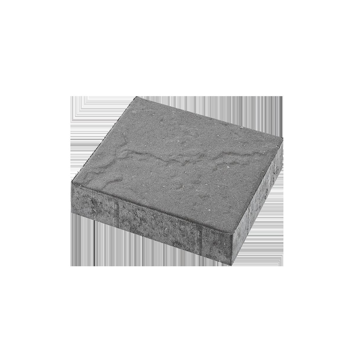 Skiferpræg 30x30x6 cm Grå