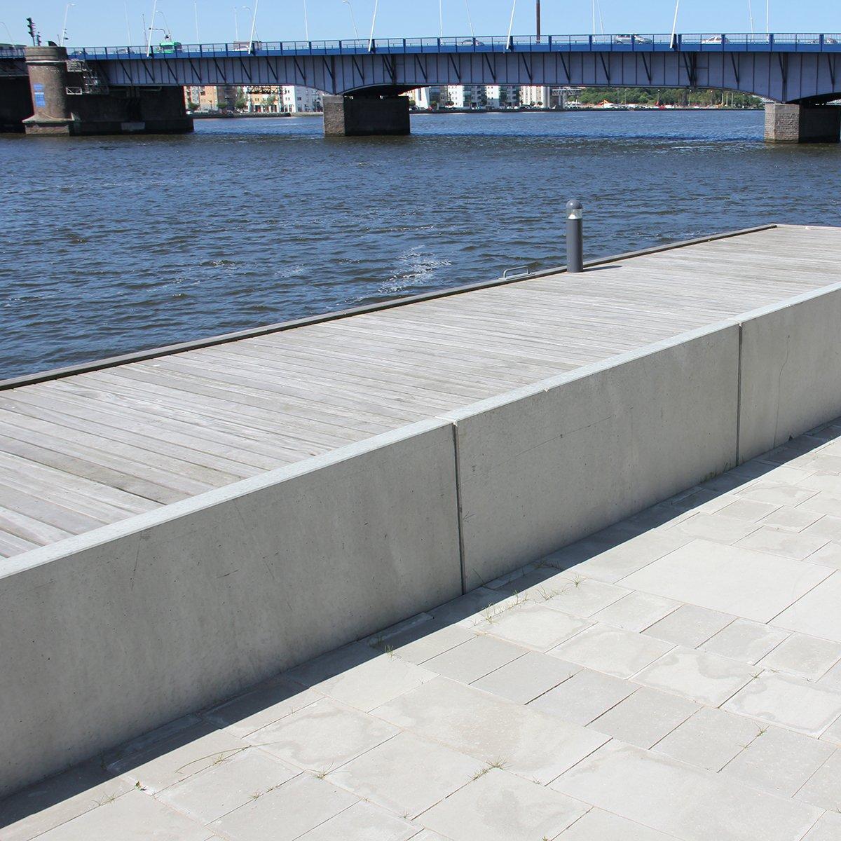 ParkLine støttemur 120 grå