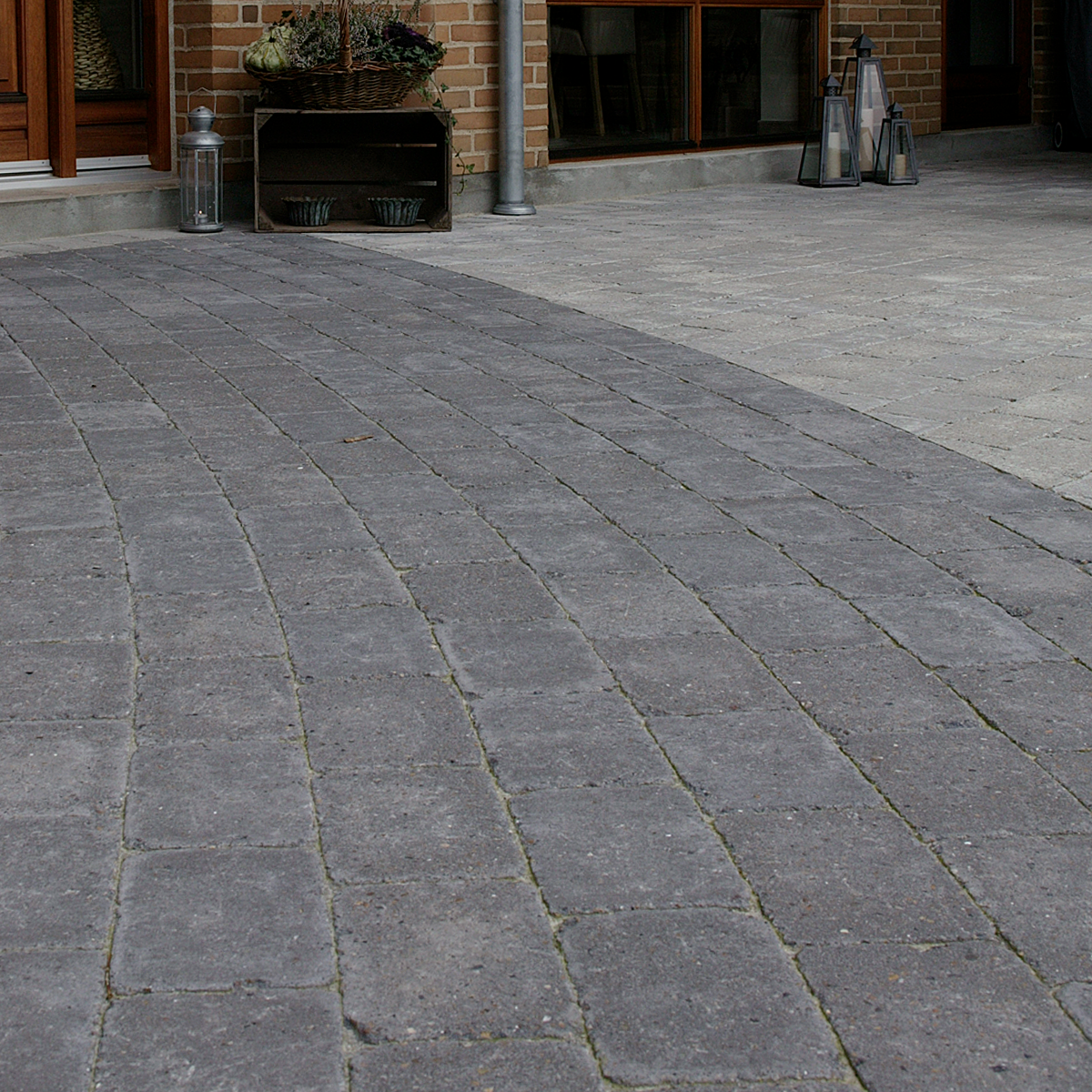 Holmegaardsten® 14x21x5 cm Sort/Antracit Normalsten