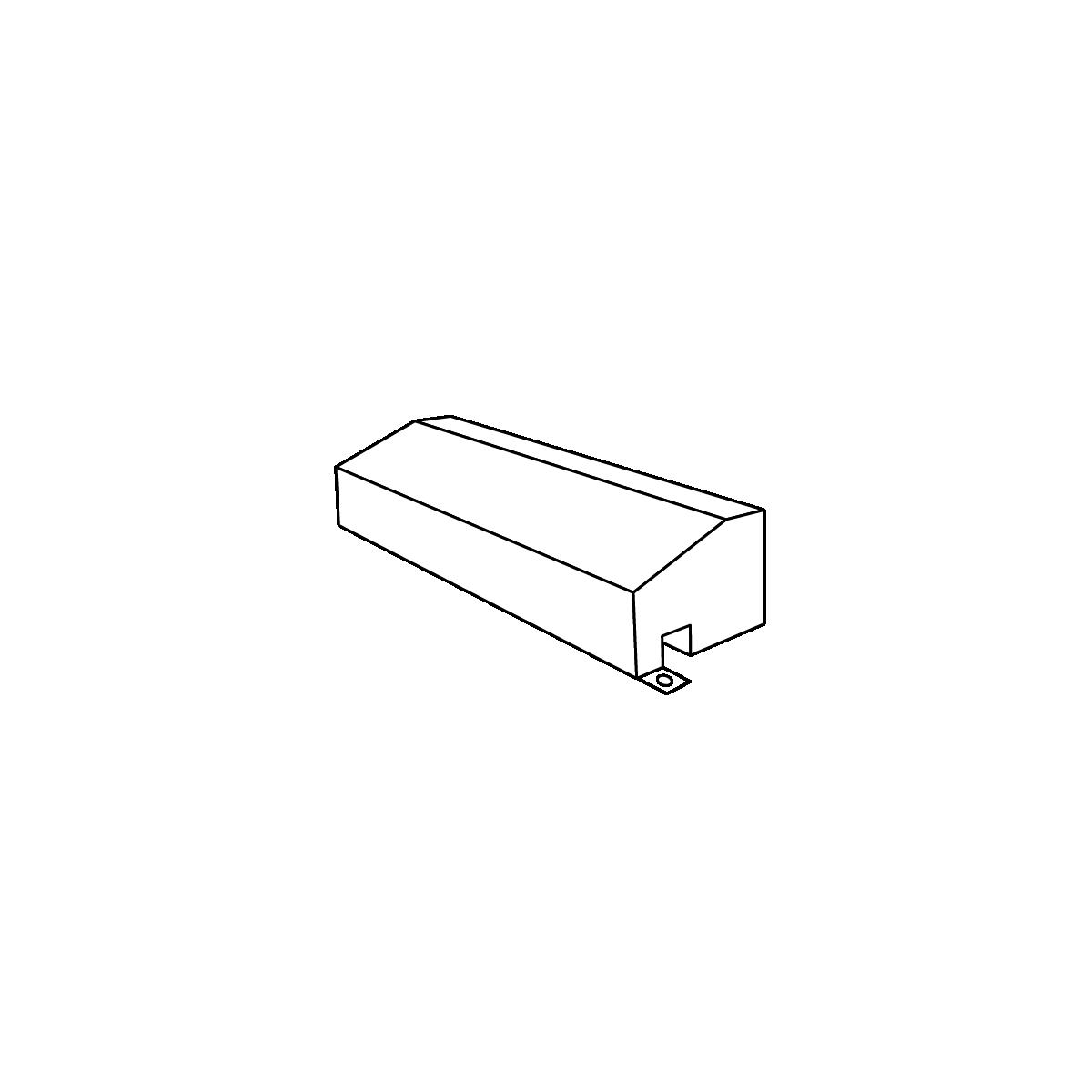 A-sømkantsten hvid
