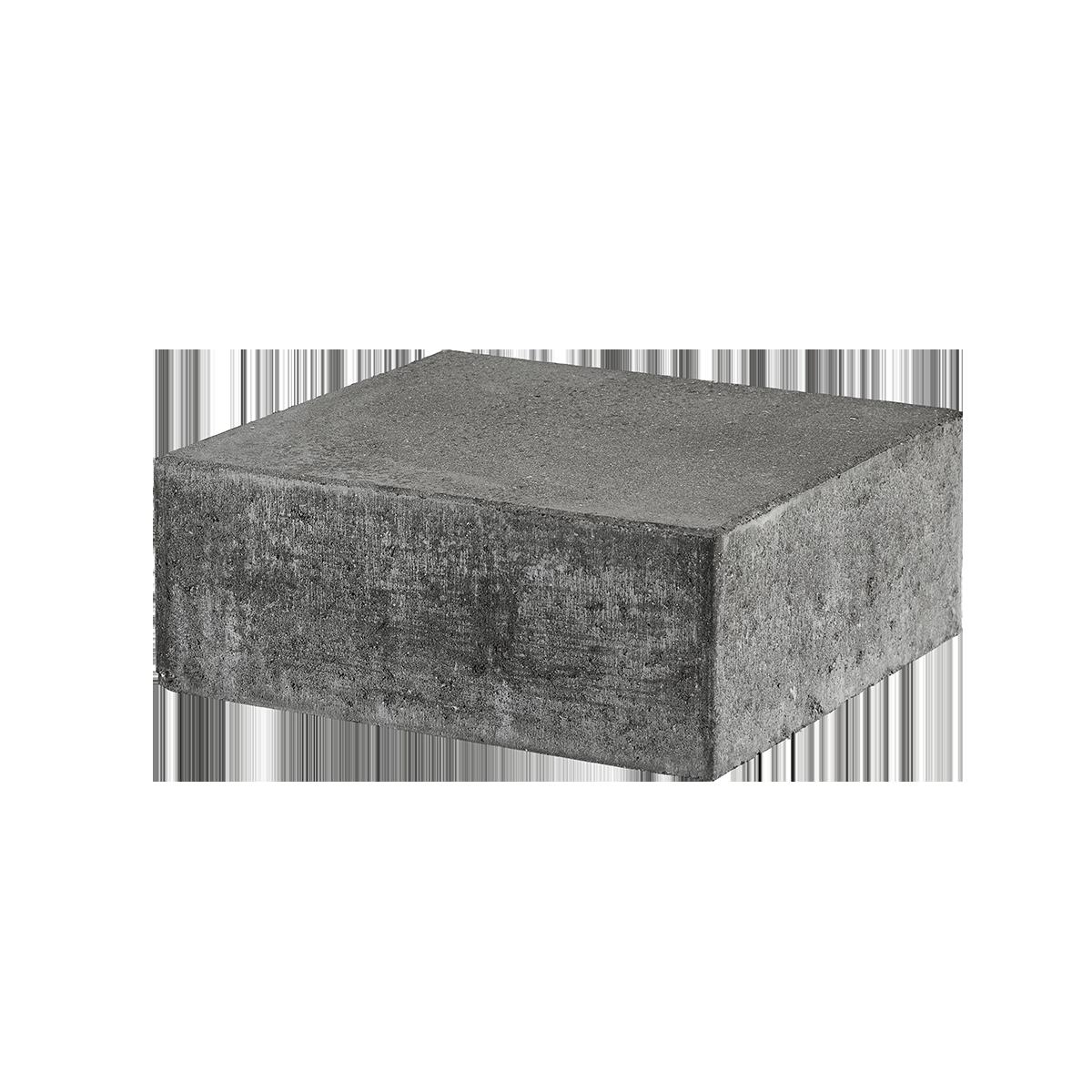 Trappetrin 35x40x15 cm Grå Lige kant