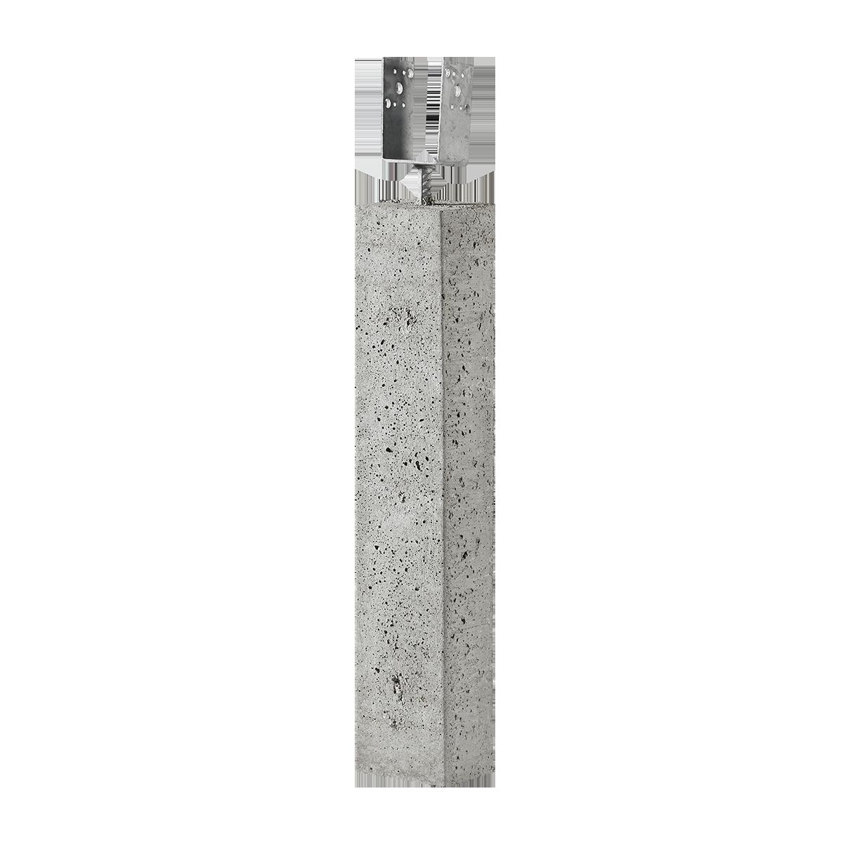 "Stolpebæringer 12x15x80 cm 3"" gaffel"