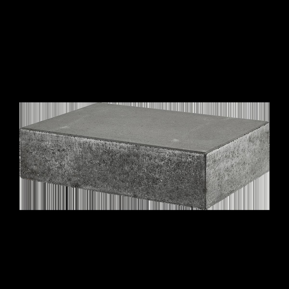 Trappetrin 60x40x15 cm Sort/Antracit Lige kant