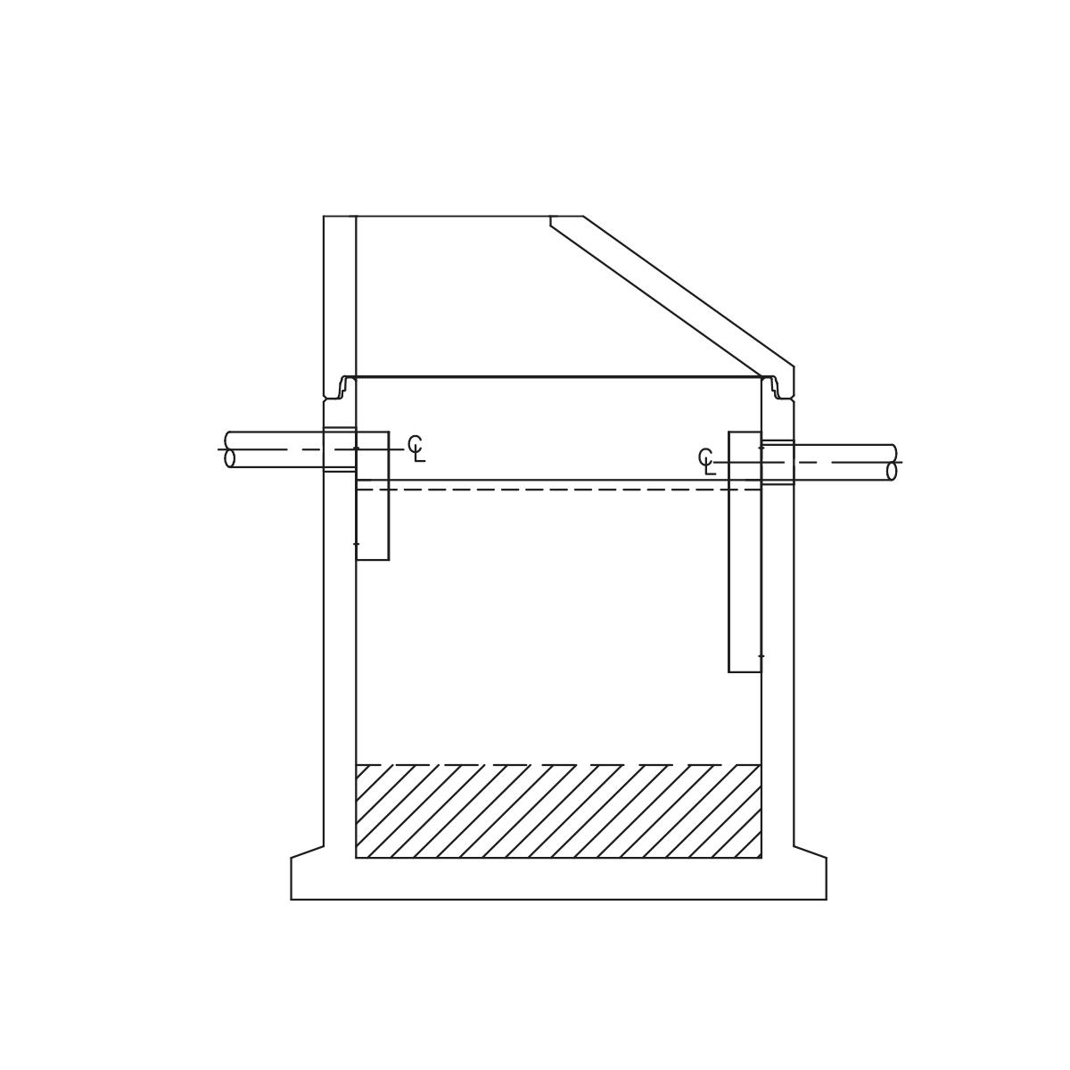 Unisep fedtudskillere med integreret sandfang