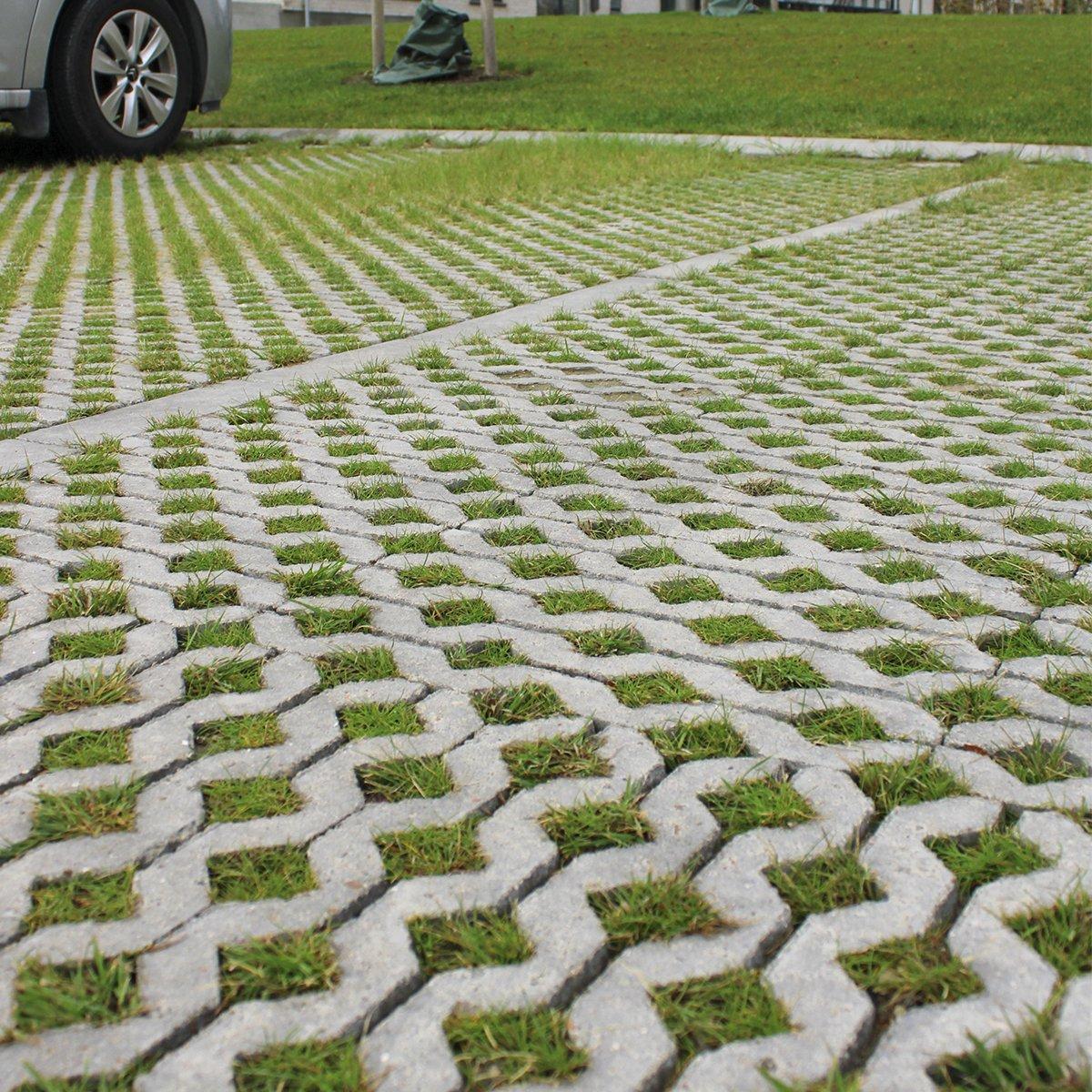 Græsarmeringsblok grå