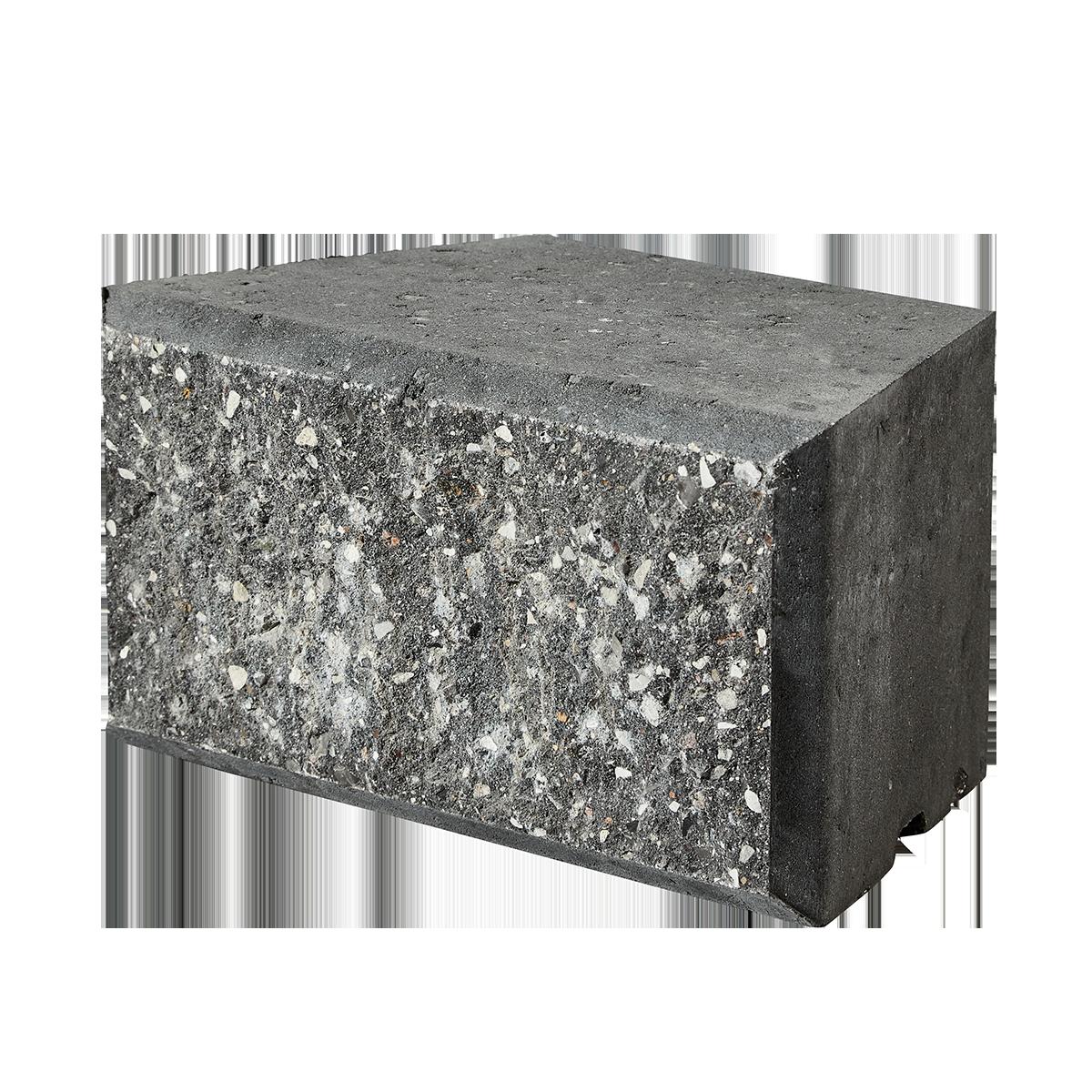 Easyblokke 18/30x18x15 cm Sort/Antracit Afdækning