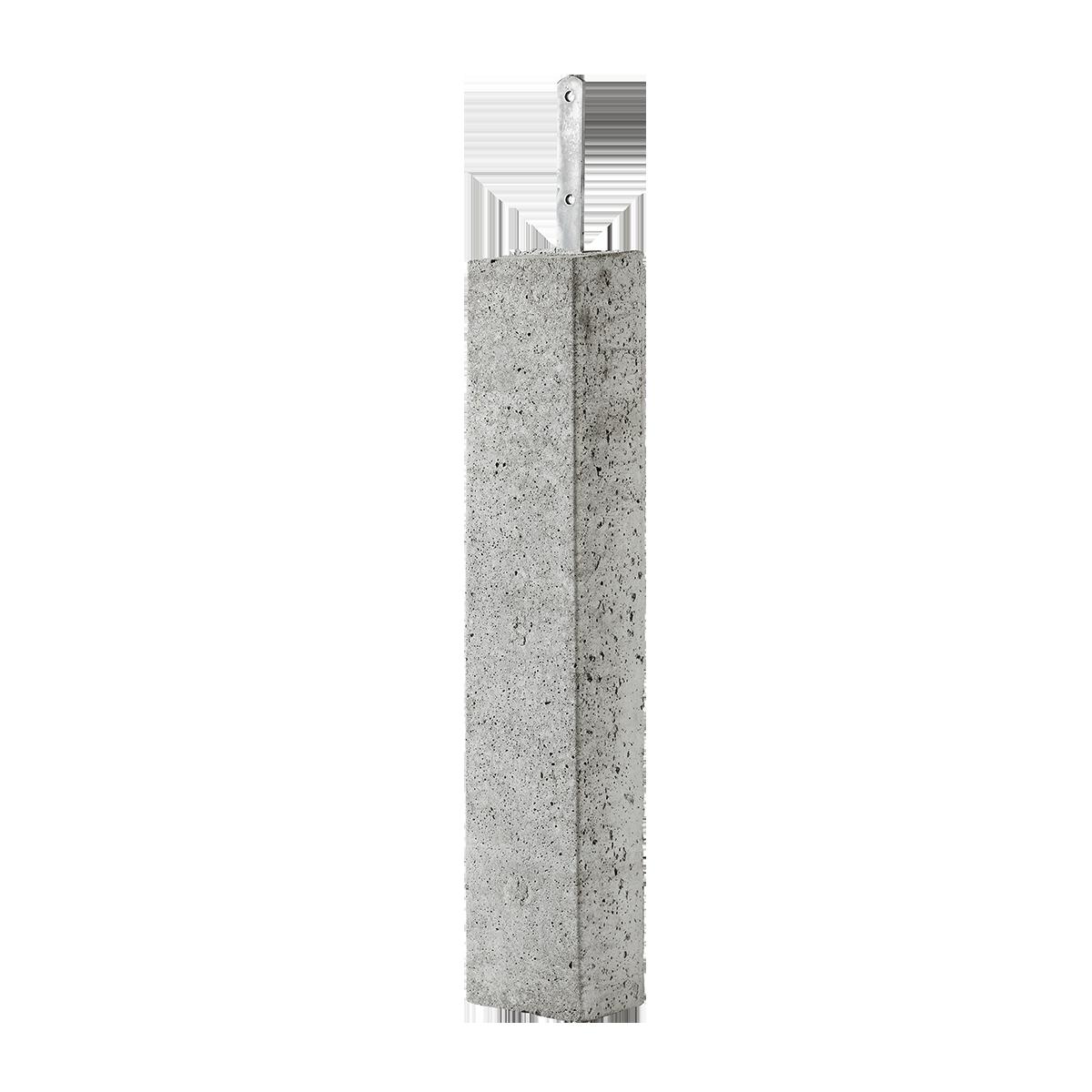 Stolpebæringer 12x15x80 cm Fladjern