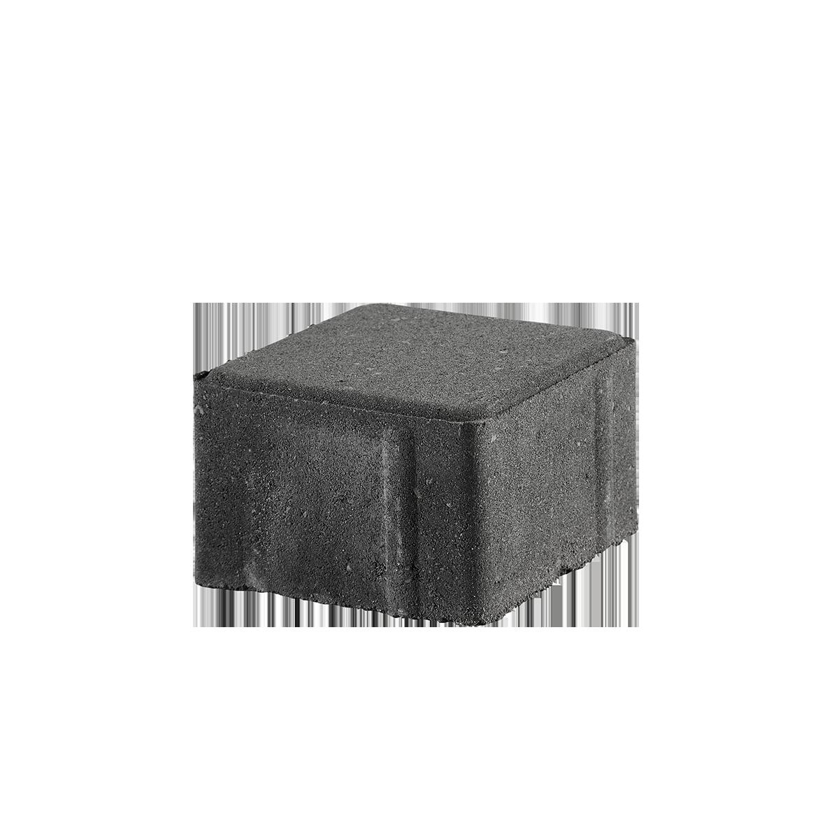 Kop/Betonbrosten 10x10x6 cm Sort/Antracit