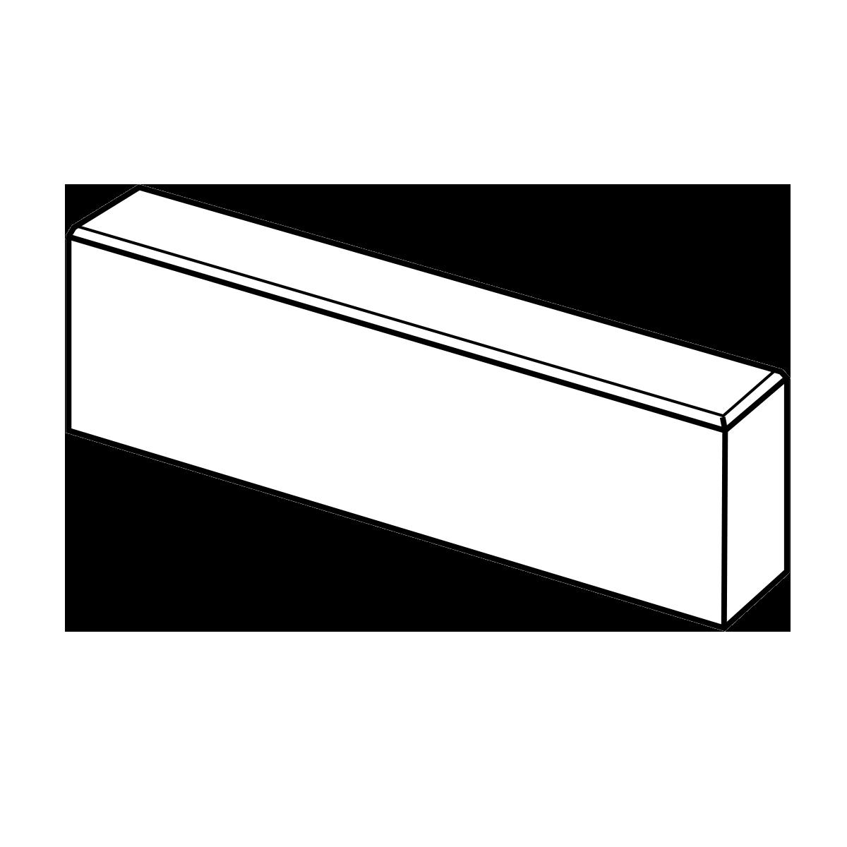Kantningssten 10x30x60 cm Grå