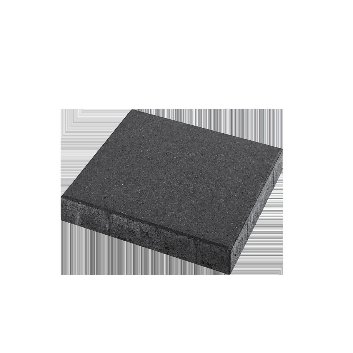 Fliser 40x40x8 cm Sort/Antracit