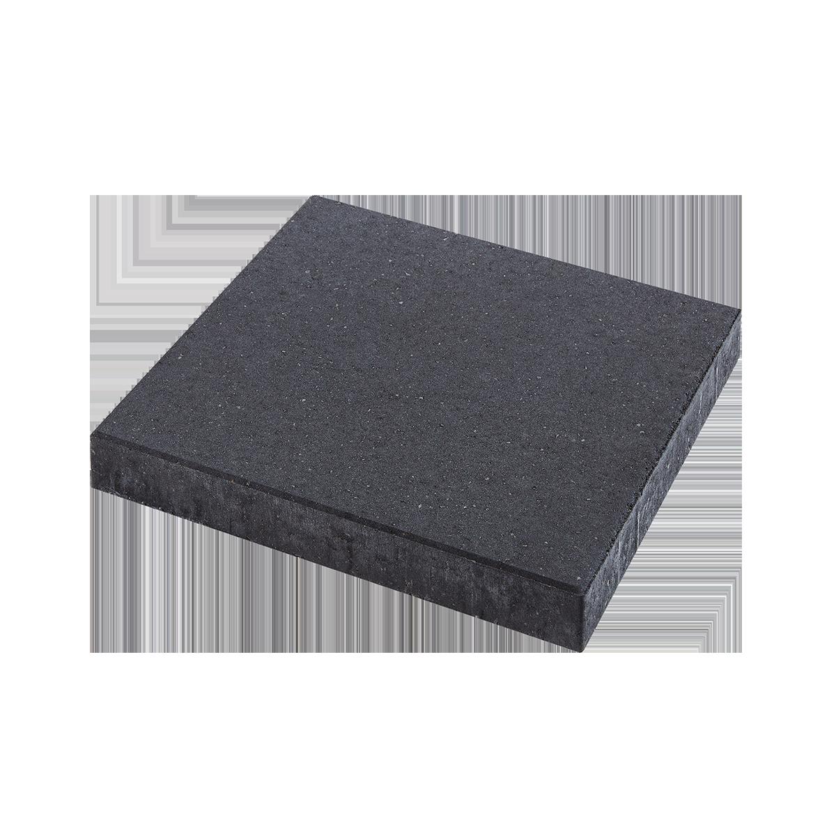 Fliser 50x50x6 cm Sort/Antracit