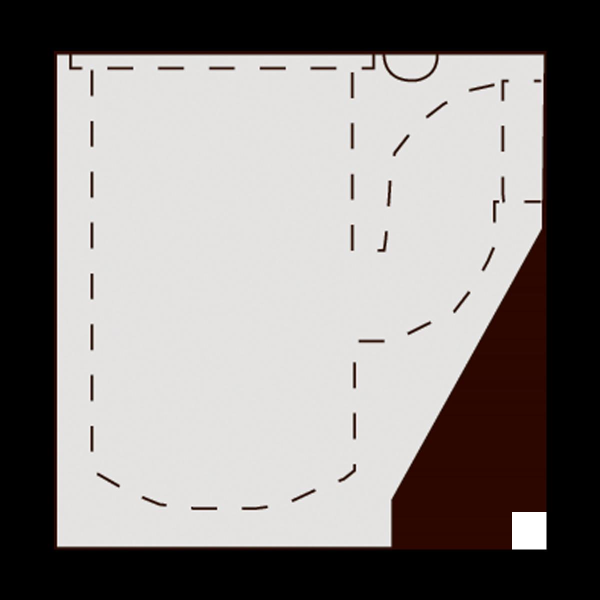 Brøndbunde til 40 cm vej- og tørbrønde, fals