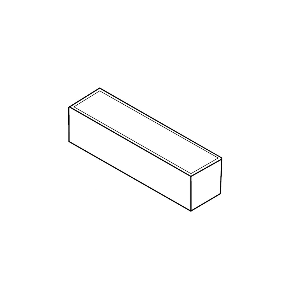 Albertslundkantsten sort/antracit