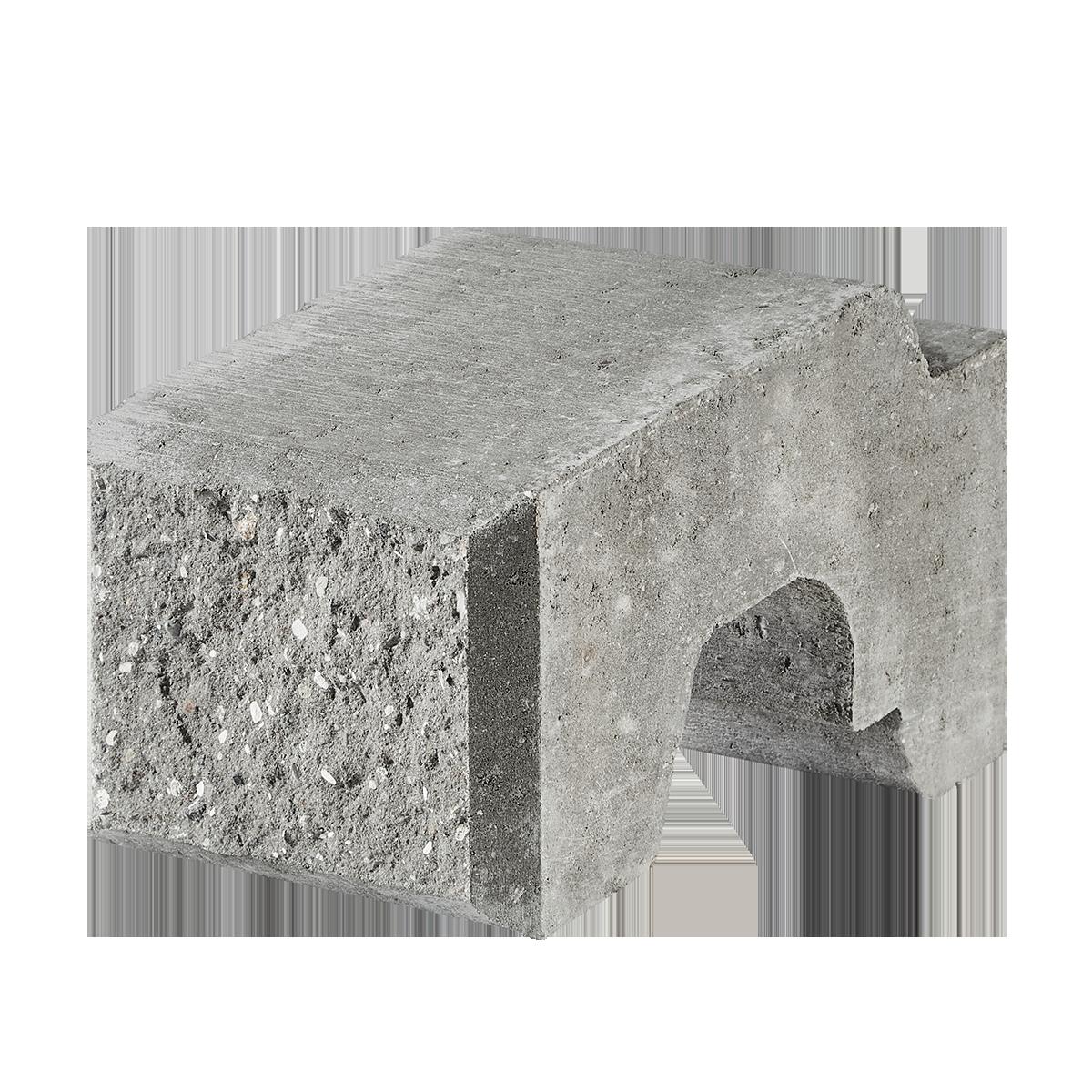 Danblokke Eksklusiv 22,5x34x17 cm Grå  Tilpasningsblok