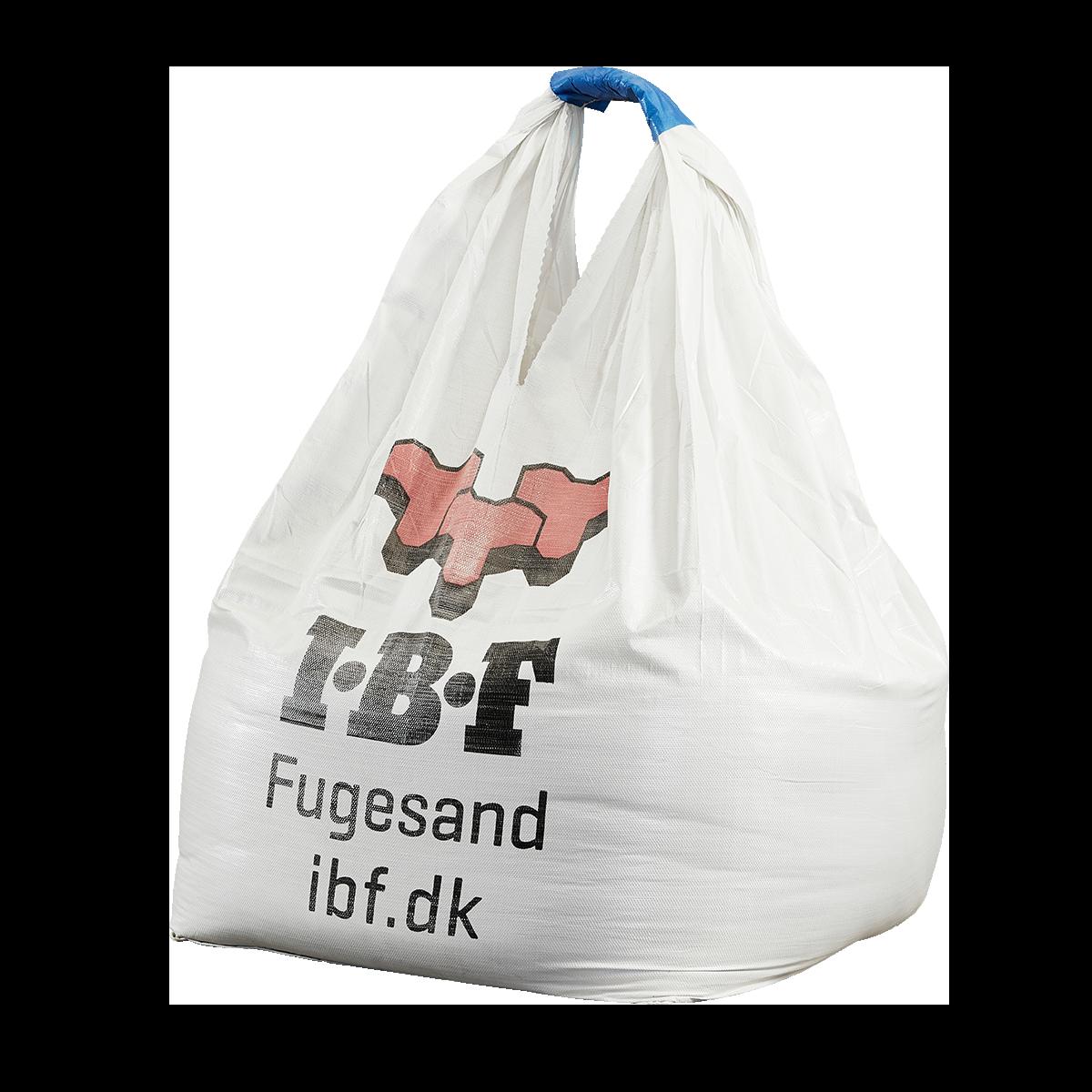 IBF Fugesand 0-4 mm (iht. DS/EN 1136) 1.000 kg. Big Bag