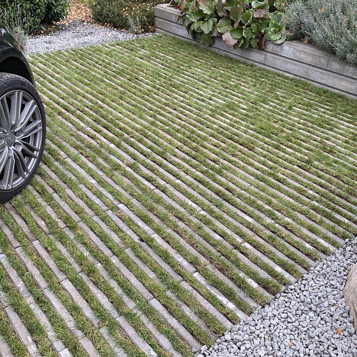VitaLine græsarmering grå