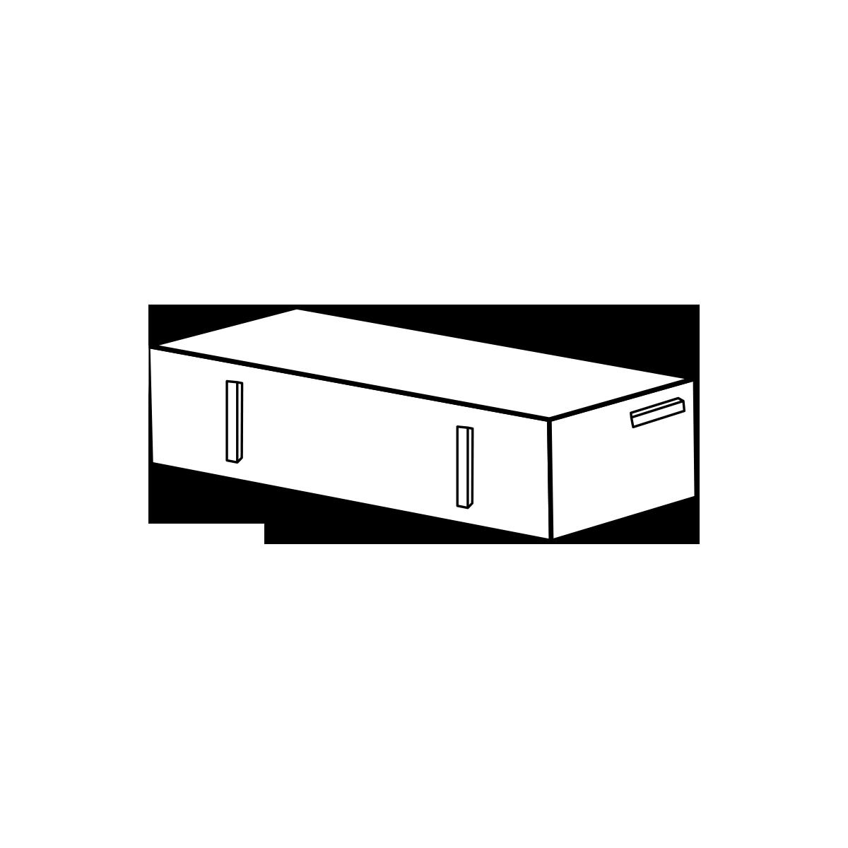 Betonklinker M23 11,5x23x6,5 cm Sort/Antracit Normalsten