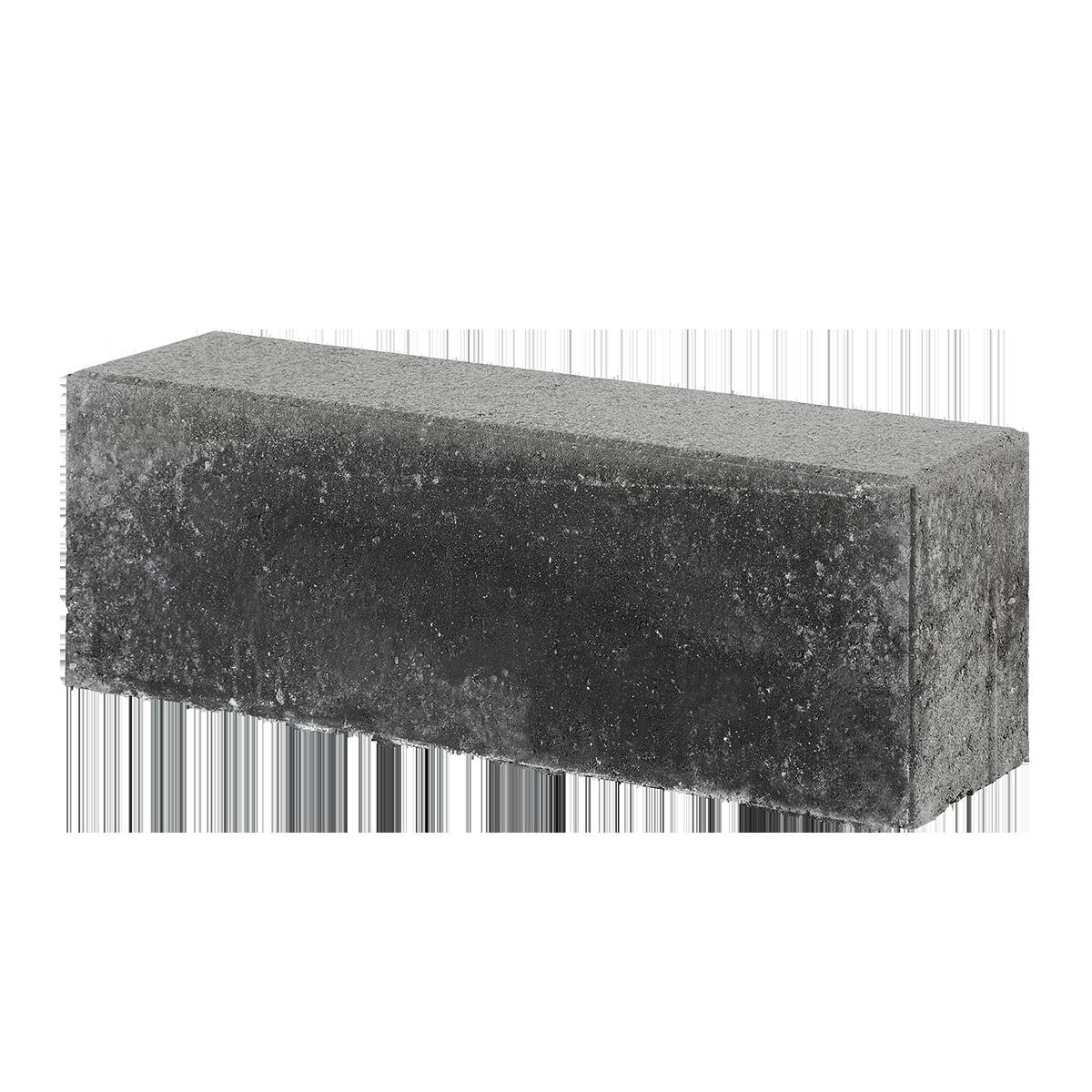 Albertslundkantsten 15x20x60 cm Sort/Antracit vandret overs.