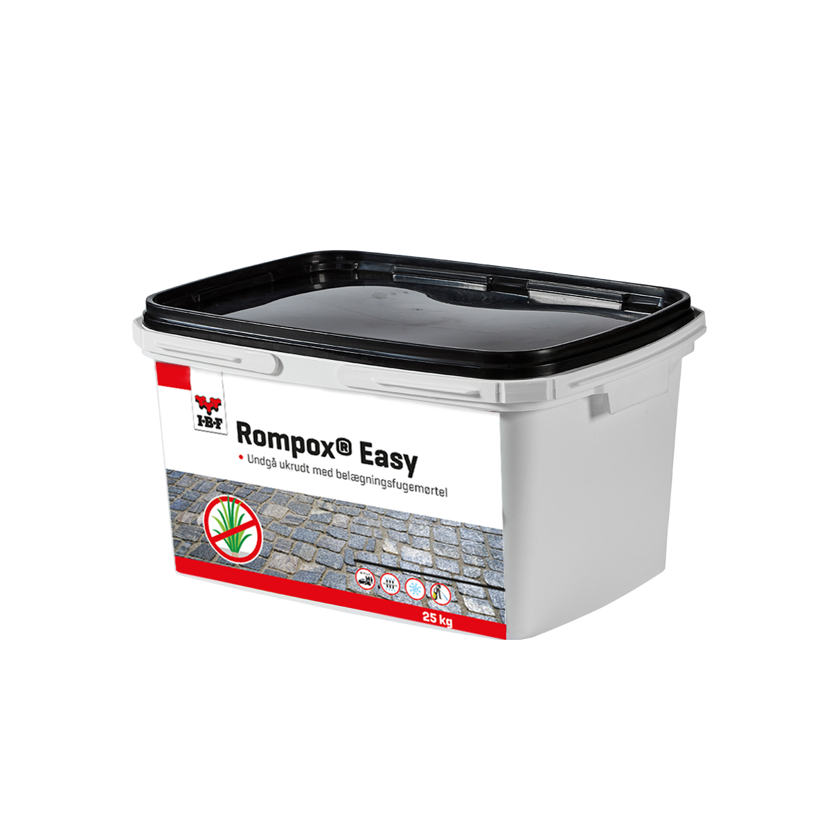 Rompox®-Easy Sort-basalt (25 kg. spand)