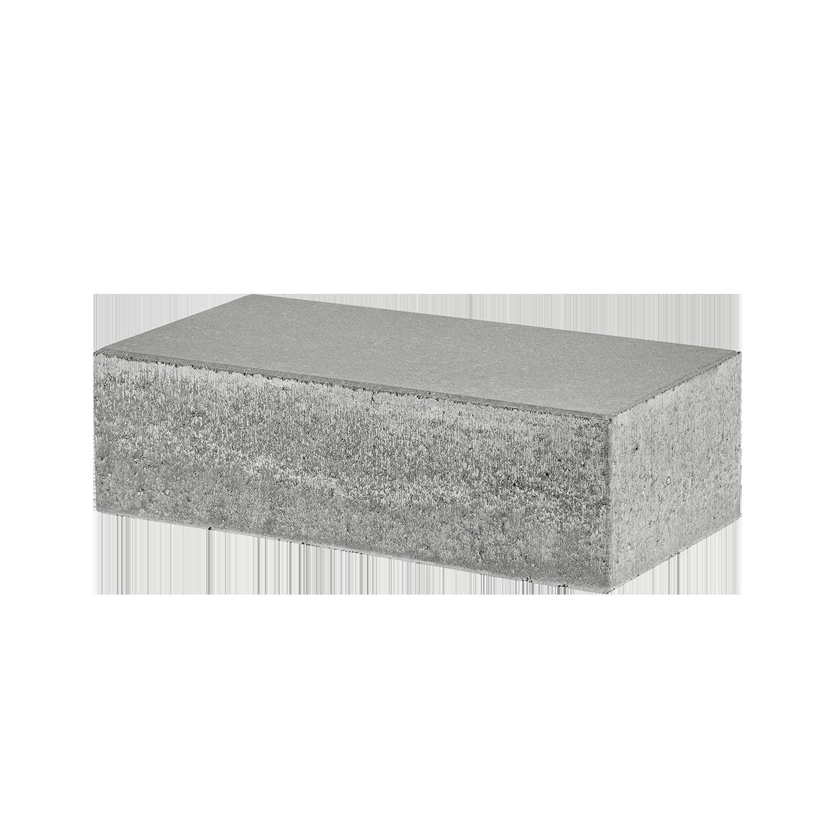 Trappetrin 60x30x18 cm Grå Lige kant