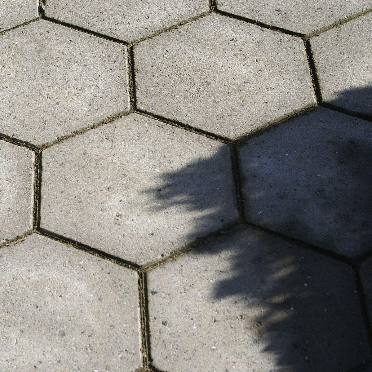 Sekskantede Bellahøj fliser grå