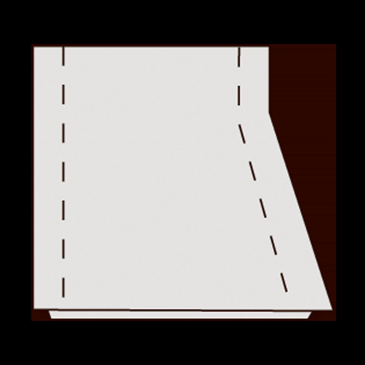 Topstykke til 40 cm vej- og tørbrønde, fals