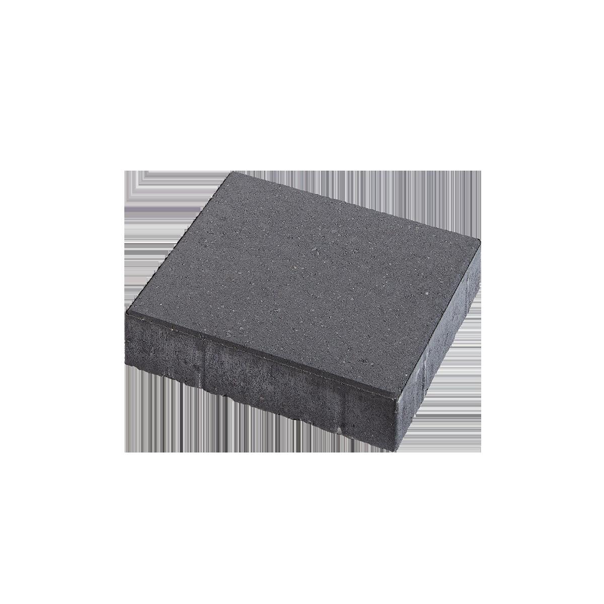 Fliser 30x30x6 cm Sort/Antracit