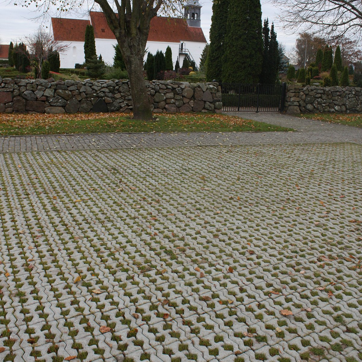 SF-Coloc® græsarmering grå