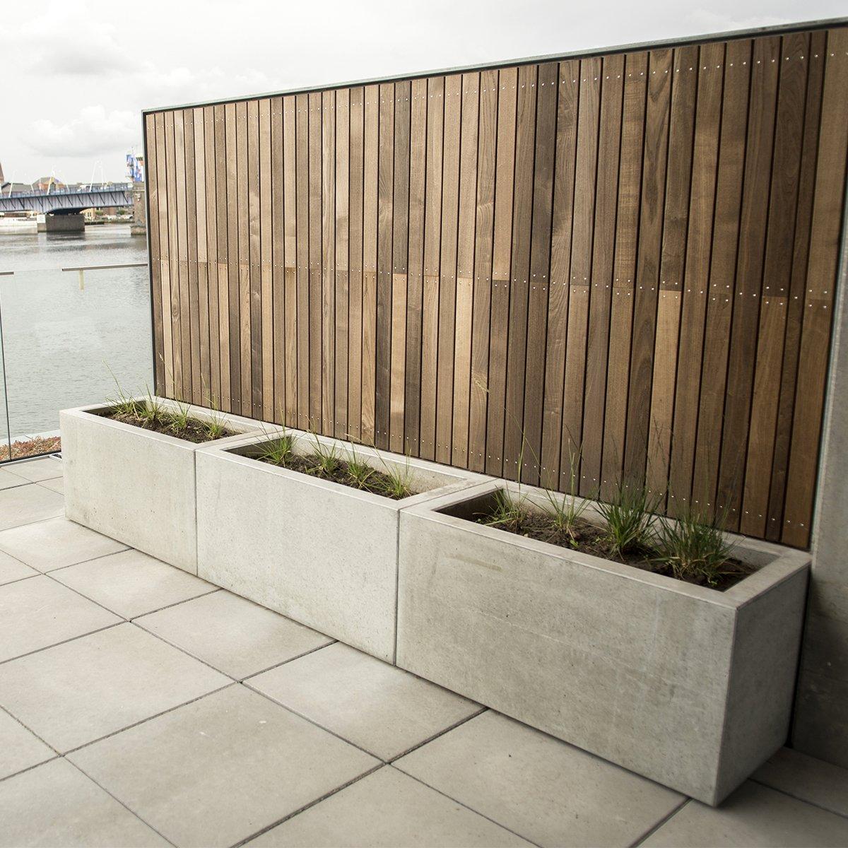 Plantekummer Nordic-serien grå