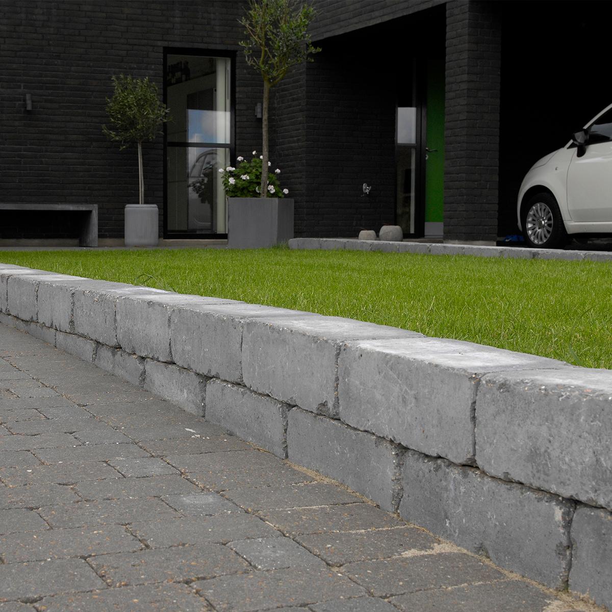 Holmegaardsten® 14x21x7 cm Sort/Antracit Normalsten