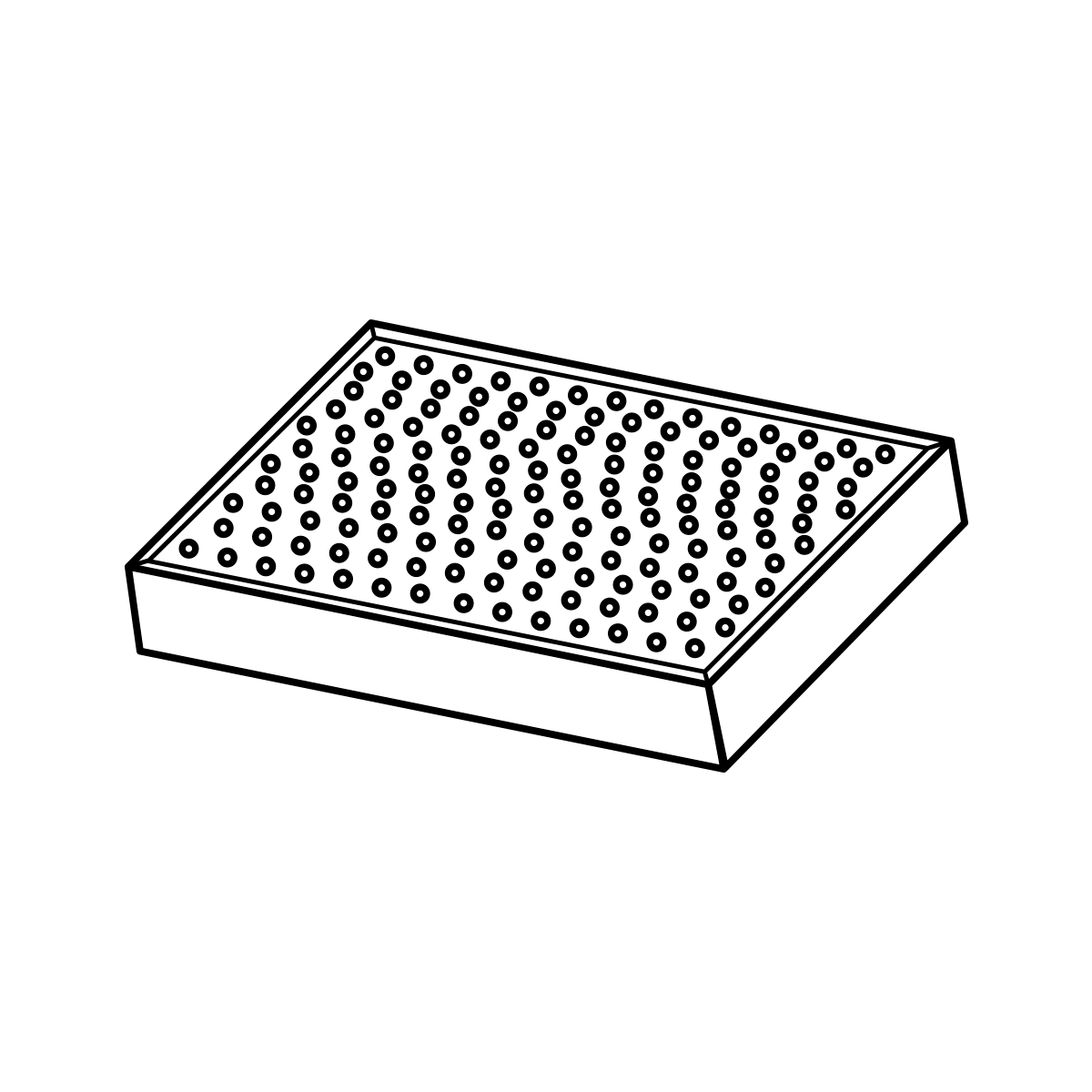 Fortovsfliser med fas grå