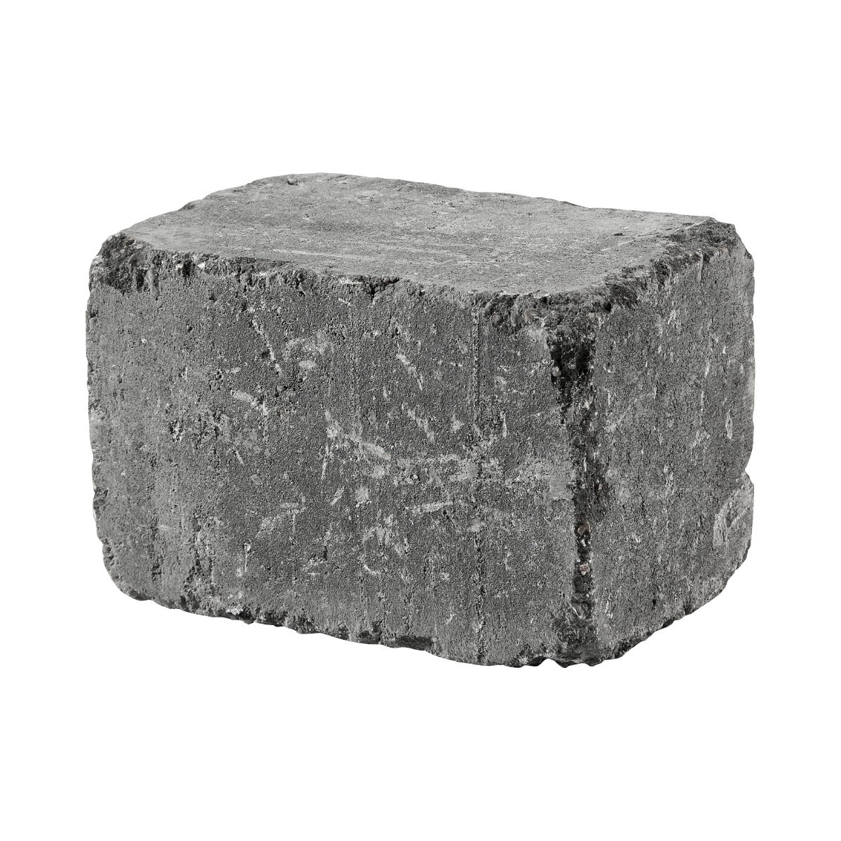 Holmegaardsten® 14x21x14 cm Sort/Antracit Kantblokke
