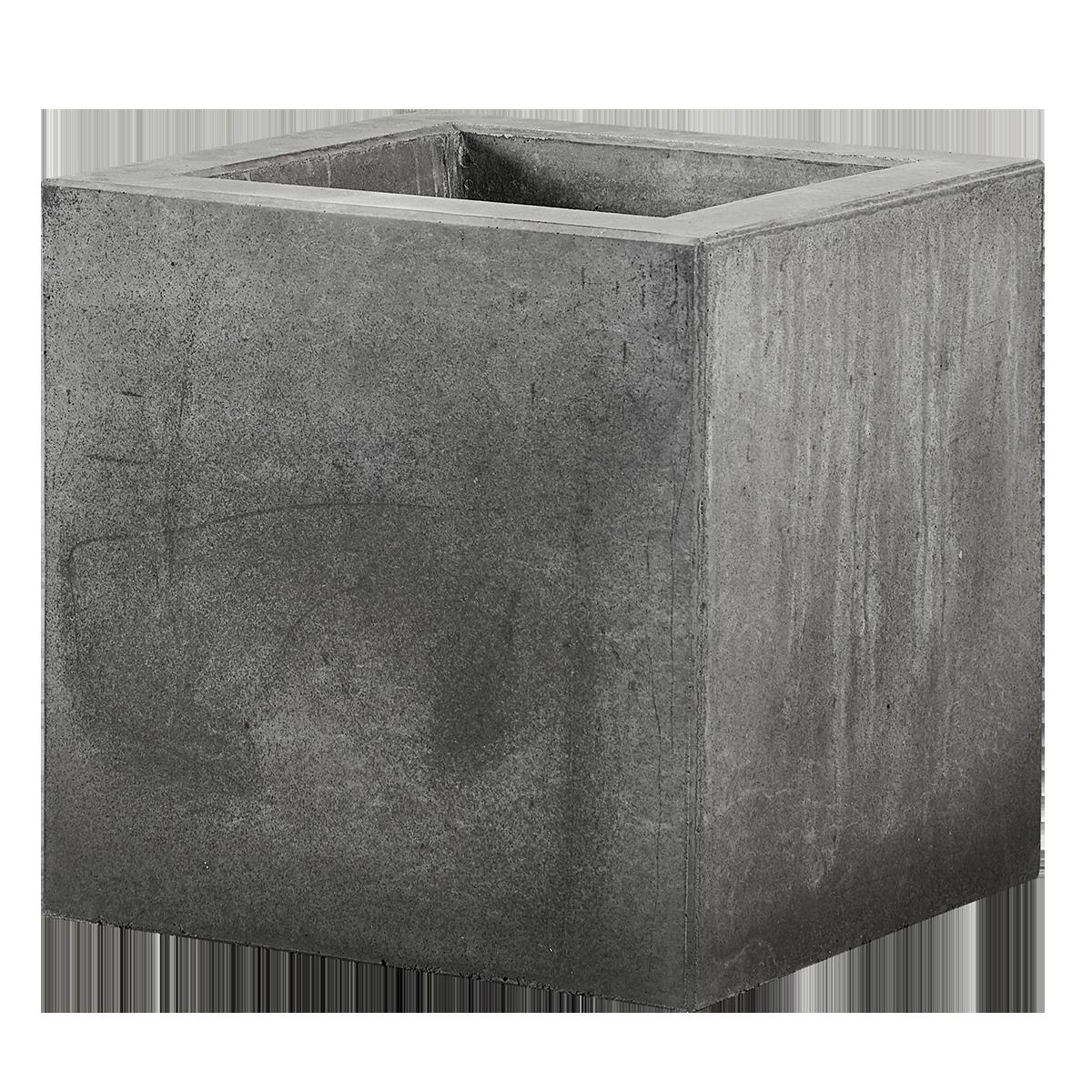 Plantekummer Nordicserien 50x50x50 cm Sort/Antracit m/bund
