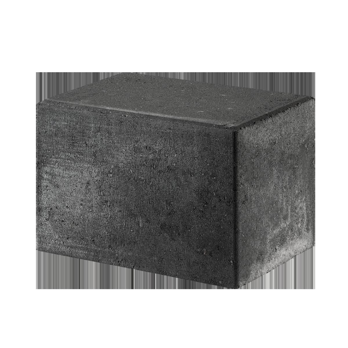 Bondesten 14x21x14 cm Sort/Antracit Kantblokke