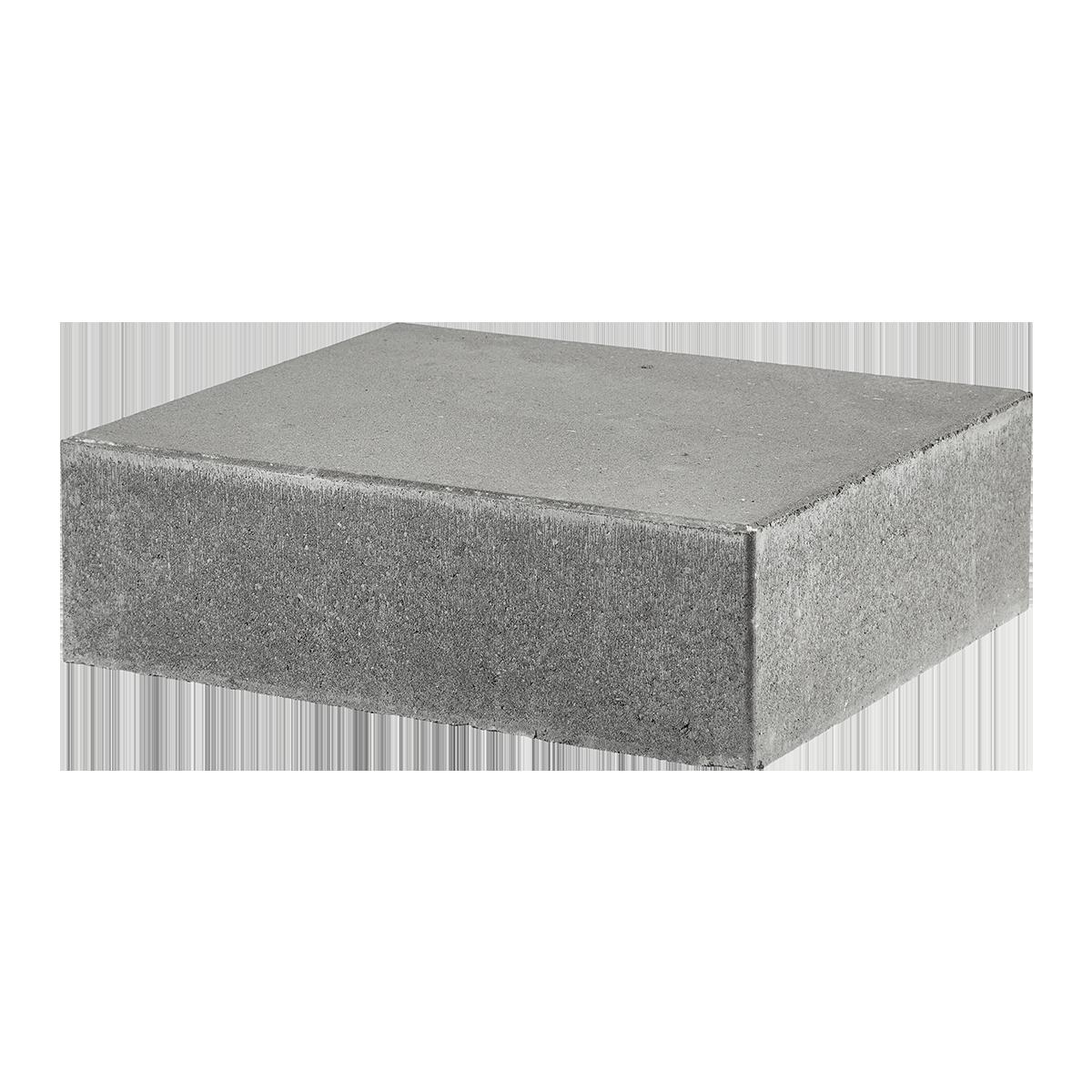 Trappetrin 50x40x15 cm Grå Lige kant