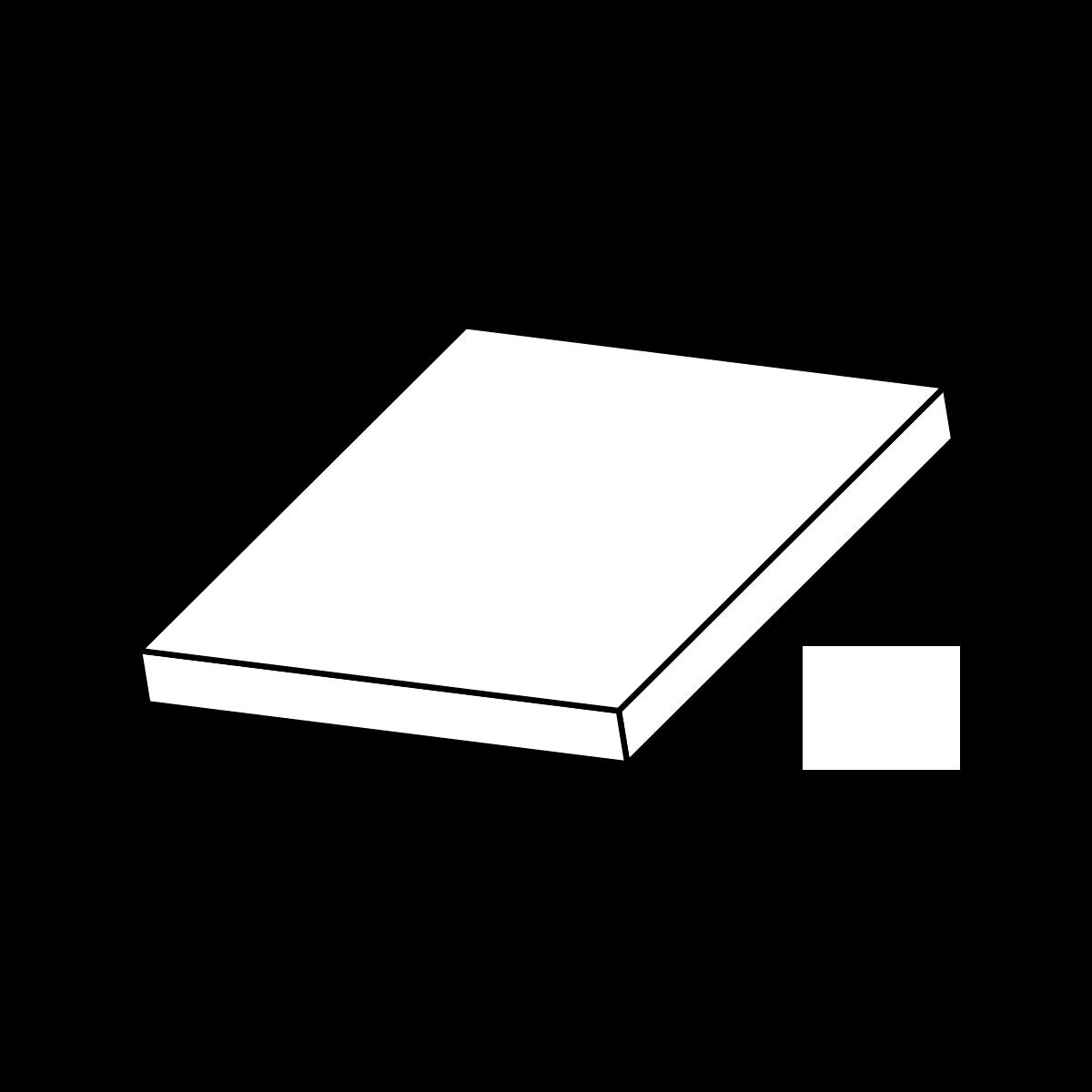 Fortovsfliser skarpkantet grå