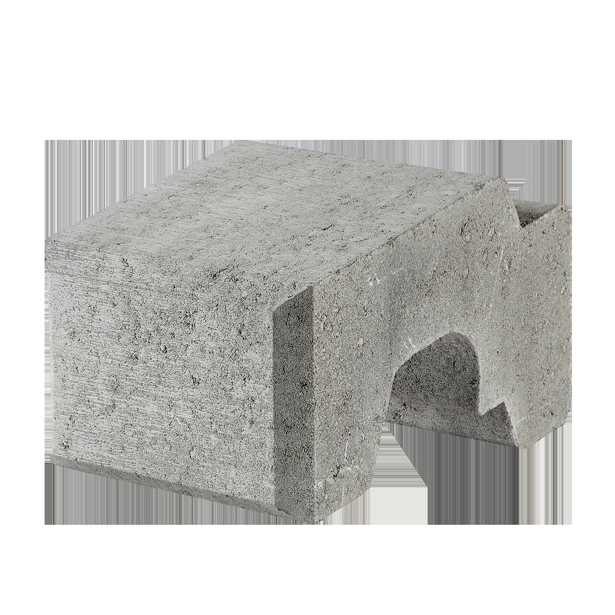 Danblokke 22,5x33x17 cm Grå Tilpasningsblok