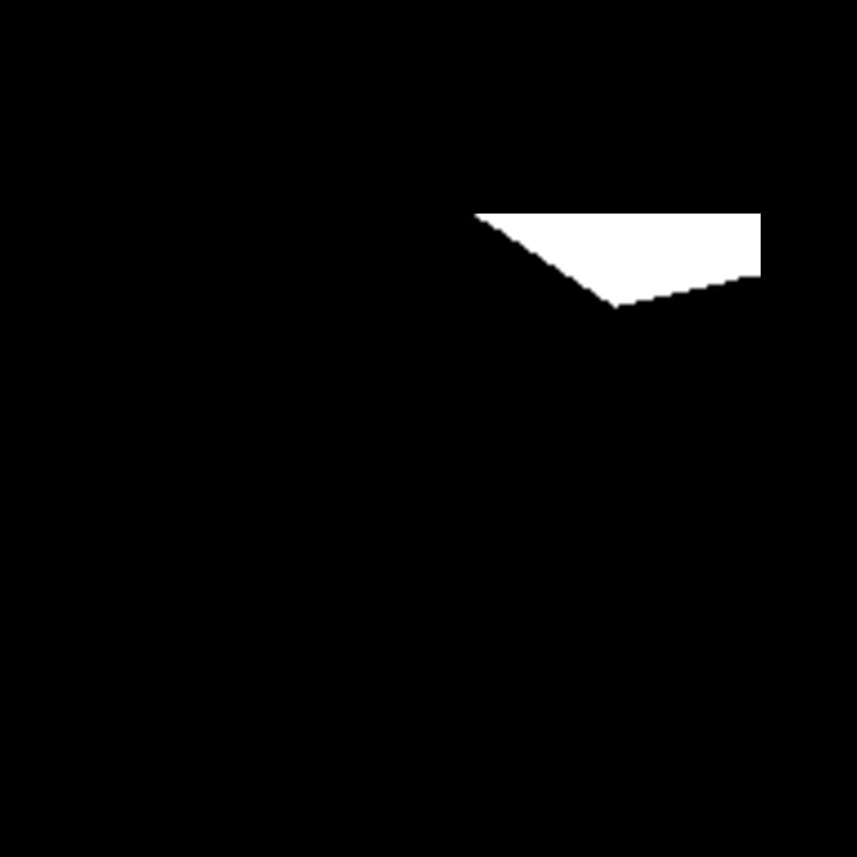 Plinte Nordic-serien sort/antracit