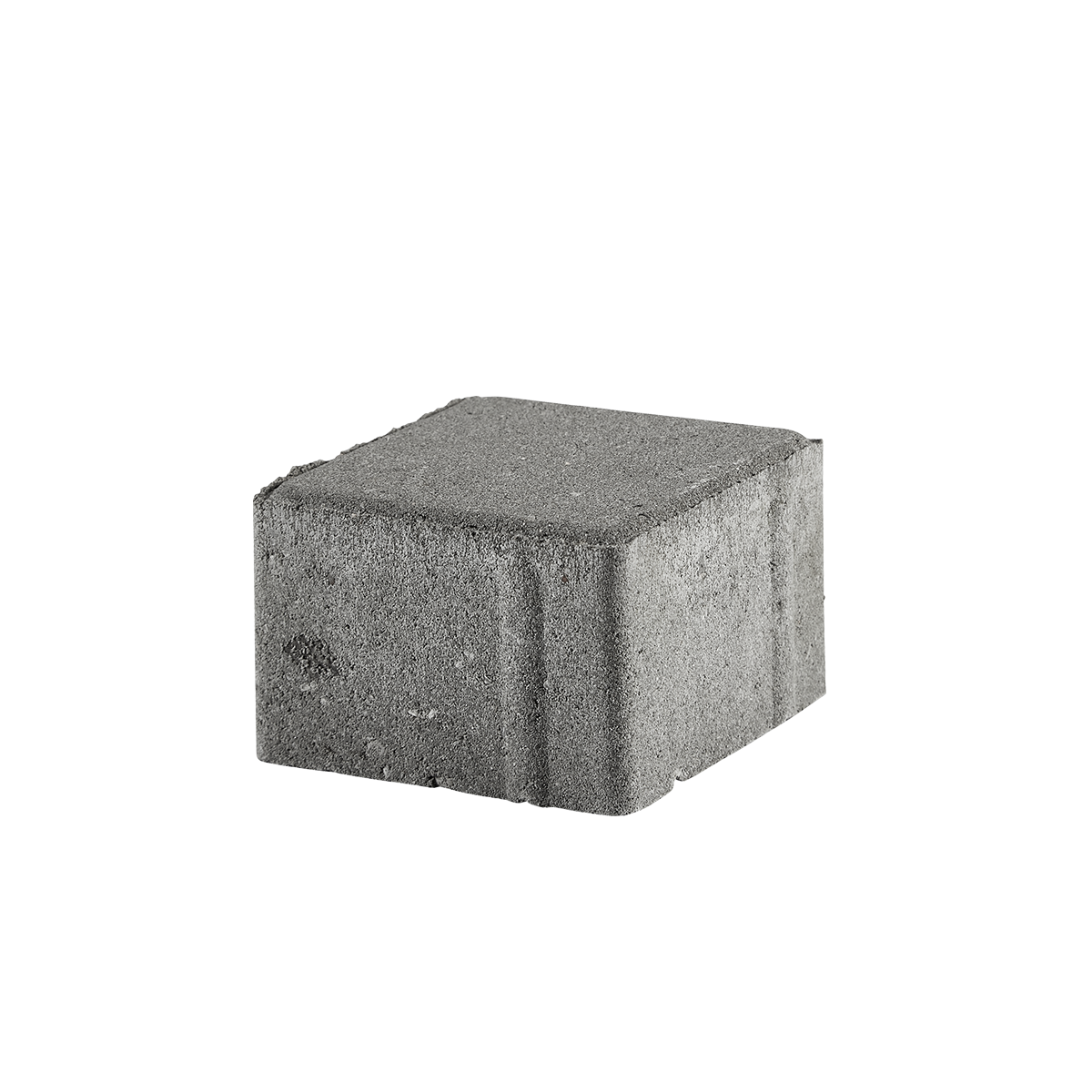 Kop/Betonbrosten 10x10x6 cm Grå